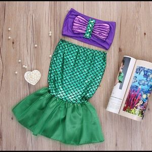 Other - Mermaid two piece set